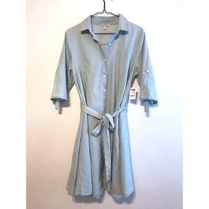 CHARLOTTE RUSSE Casual Denim Dress
